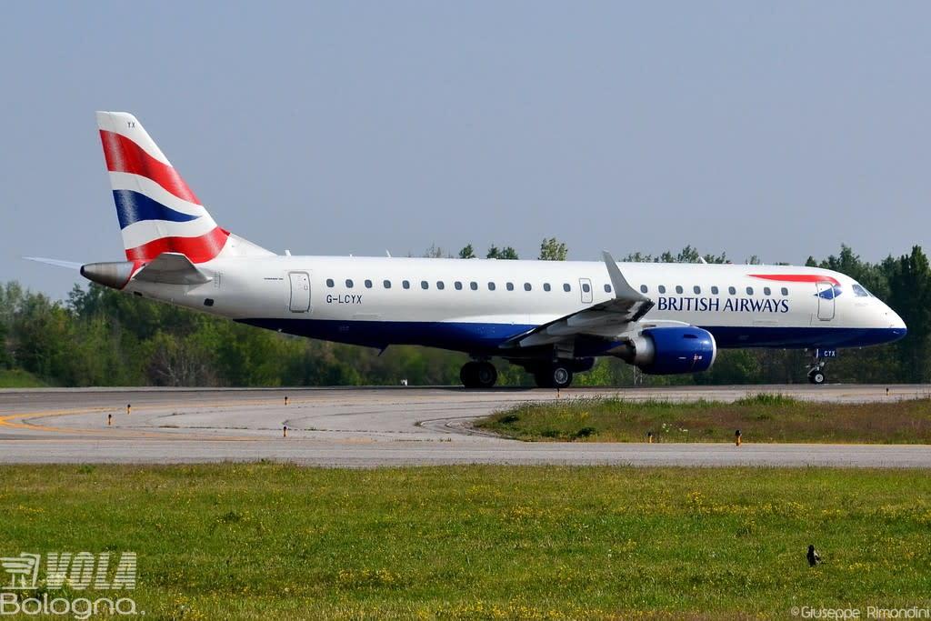 British Airways (CityFlyer) Embraer ERJ-190-100SR