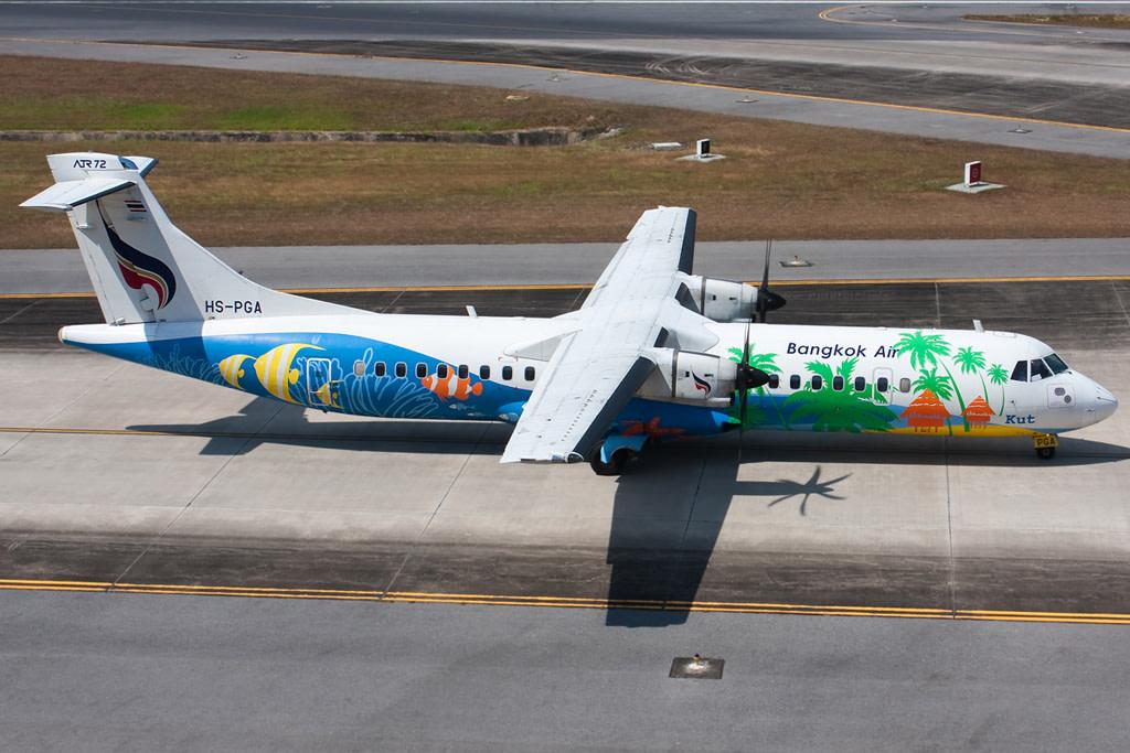 Bangkok Airways ATR 72-200