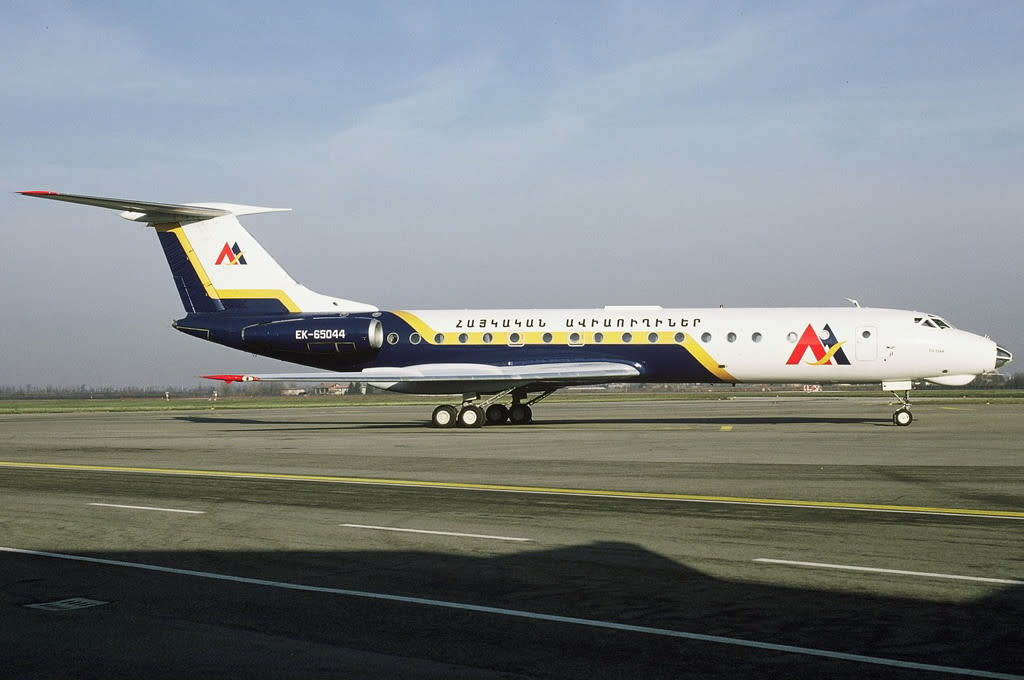 Armenian Airlines Tupolev 134A-3