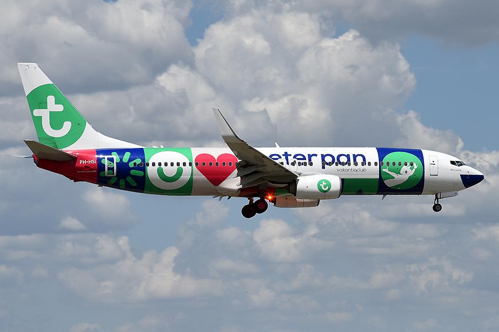 Transavia Airlines Boeing 737-800
