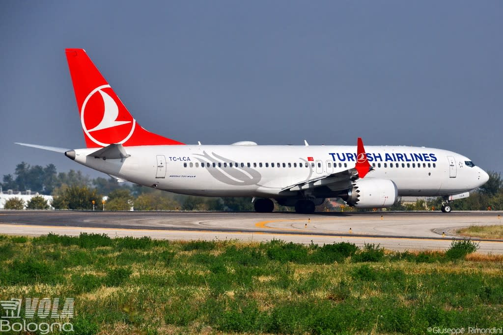 Turkish Airlines Boeing 737-8 MAX