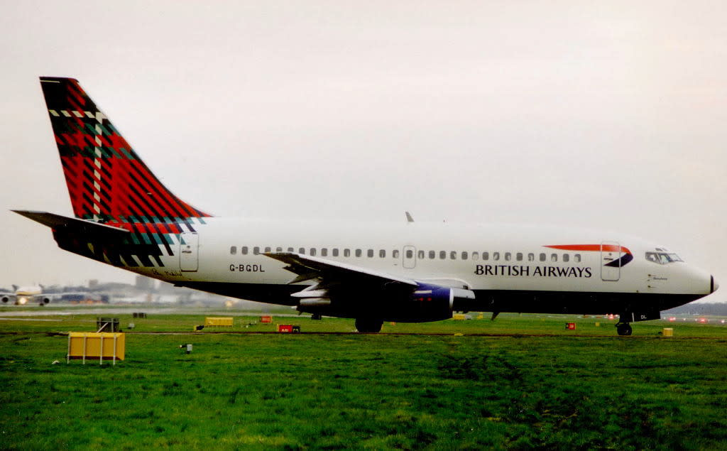 British Airways Boeing 737-200