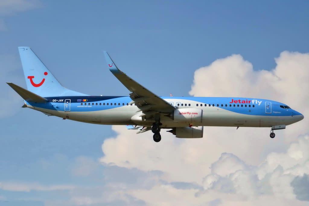 Jetairfly (TUI Airlines Belgium) Boeing 737-8K5