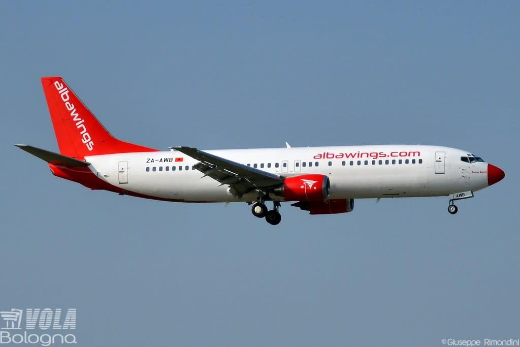 Albawings  Boeing 737-400
