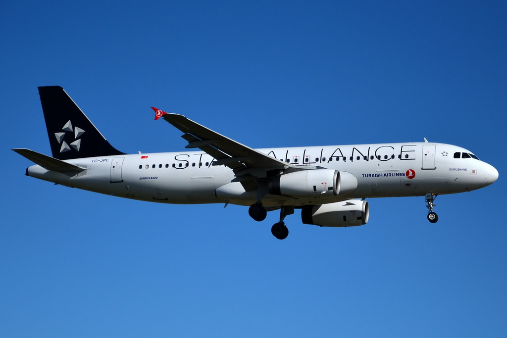 Turkish Airlines Airbus A320-232