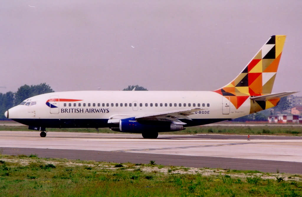 British Airways Boeing 737-200