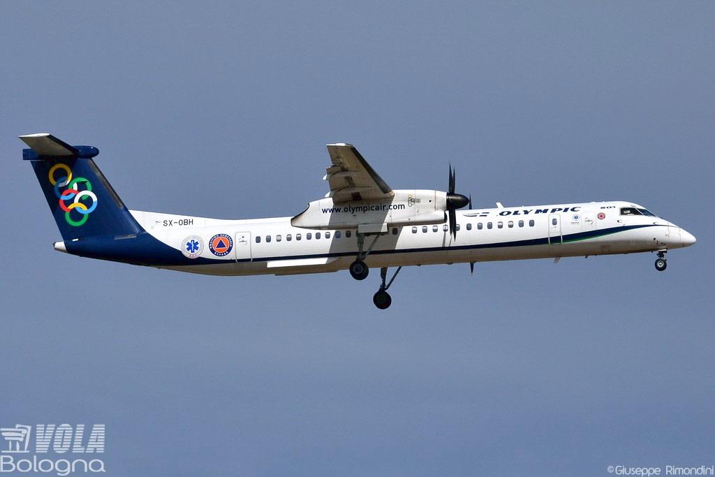 Olympic Air / Aegean De Havilland Canada DHC-8-402Q Dash 8
