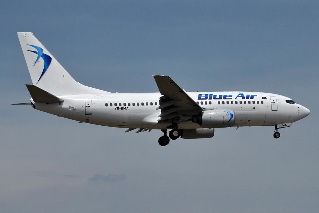 Blue Air Boeing 737-79P