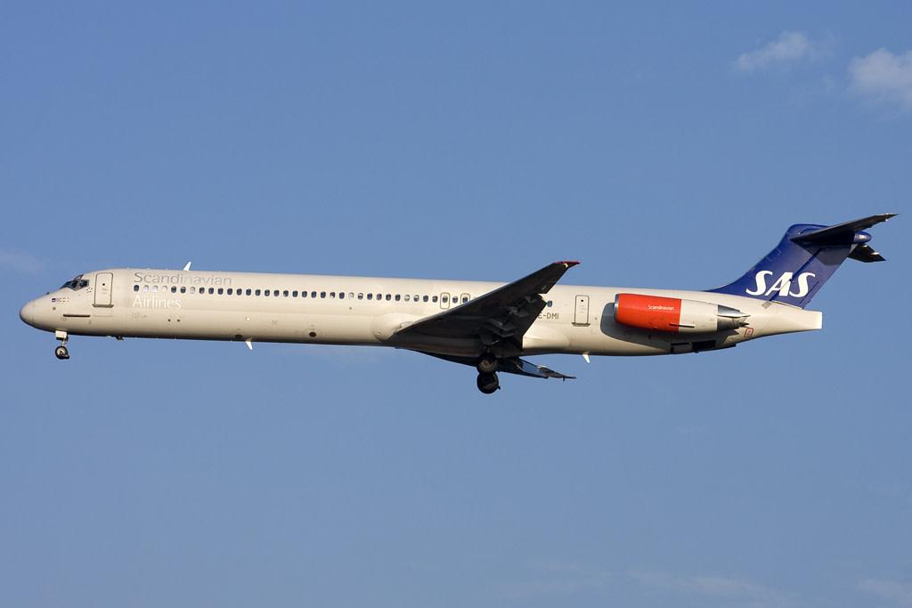 Sas - Scandinavian Airlines Mcdonnell Douglas MD-82
