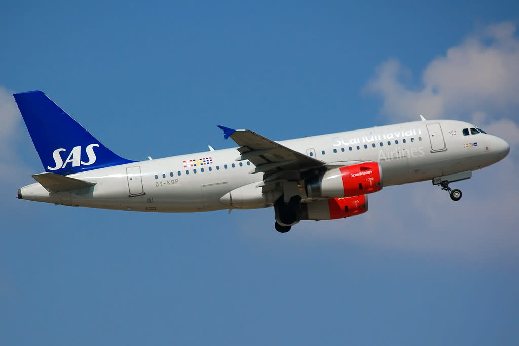 Sas - Scandinavian Airlines Airbus A319-100