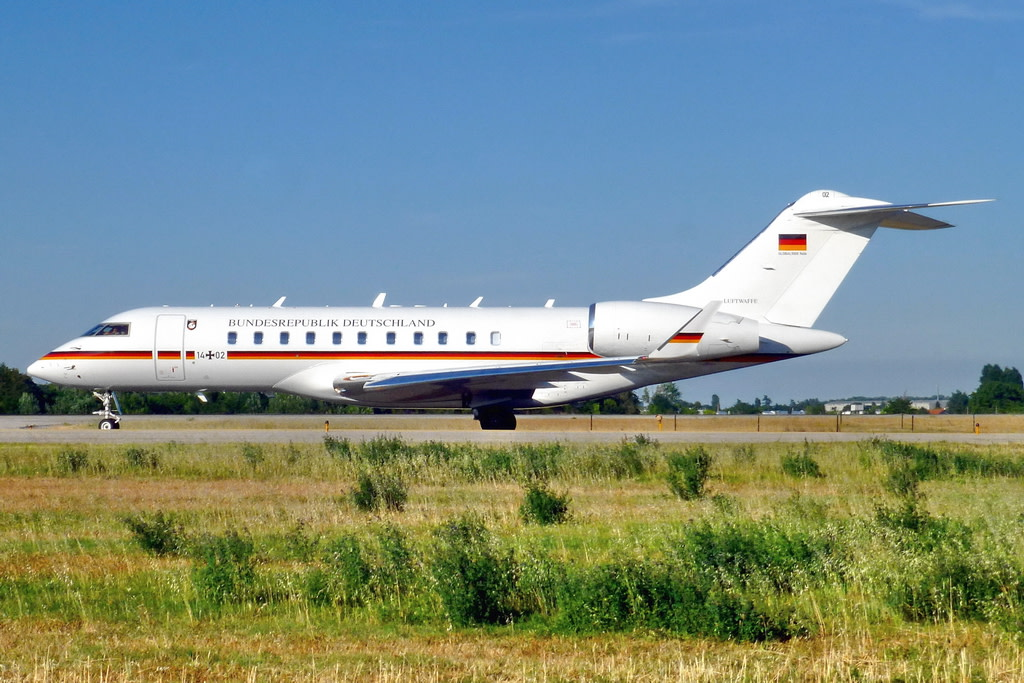 Germany Air Force - Luftwaffe Bombardier Global 5000