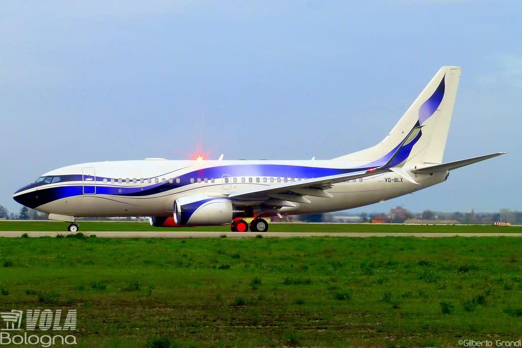 Gama Aviation  Boeing 737-7GV(BBJ)