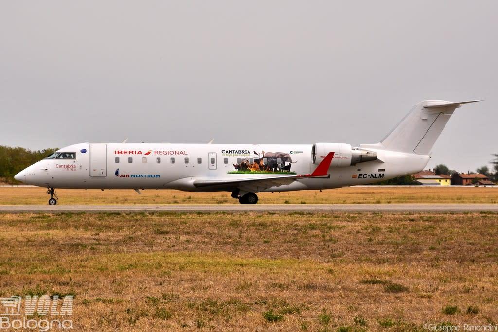 Iberia Regional (Air Nostrum) Bombardier CRJ-200ER