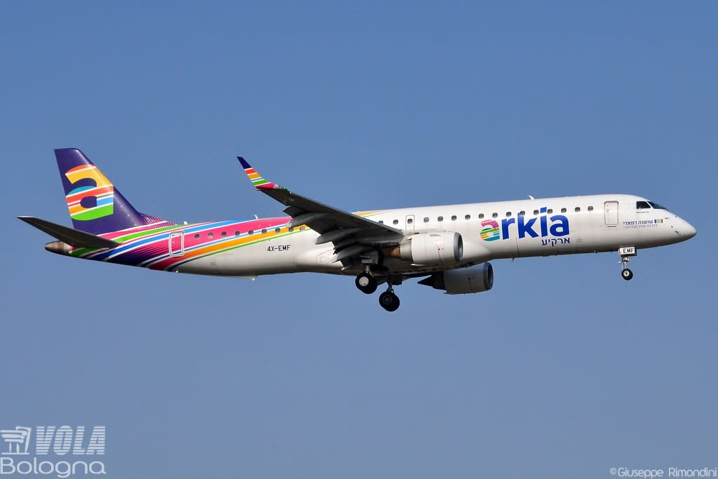 Arkia Israeli Airlines Embraer ERJ-195-200LR