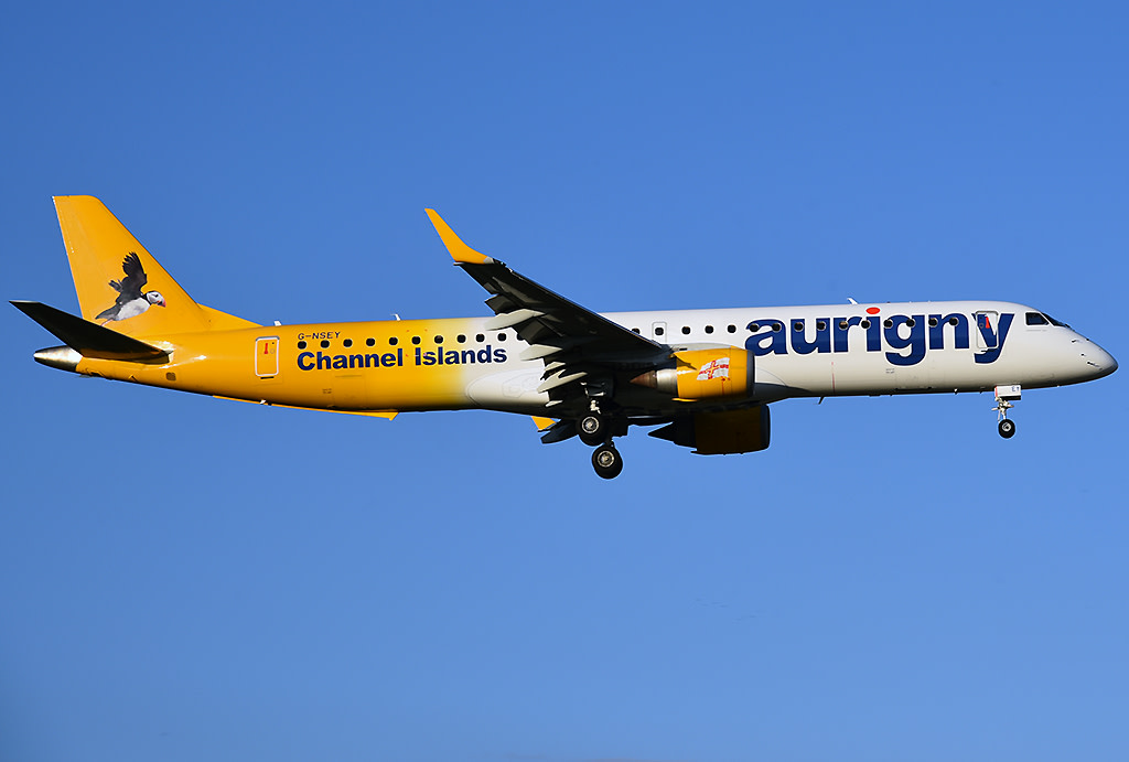 Aurigny Air Service Embraer 190-200