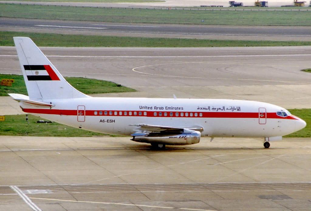 United Arab Emirates Boeing 737-200