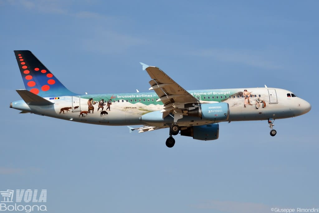 Brussels Airlines Airbus A320-200