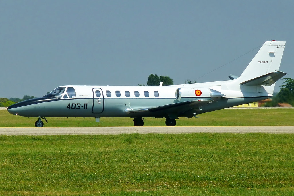 Fuerza Aerea Espa�ola (Spanish Air Force) Cessna 560 Citation Ultra