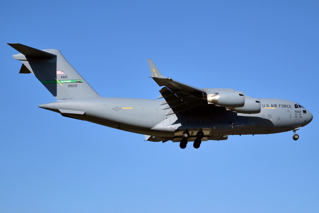USA - Air Force  Boeing C-17 Globemaster III