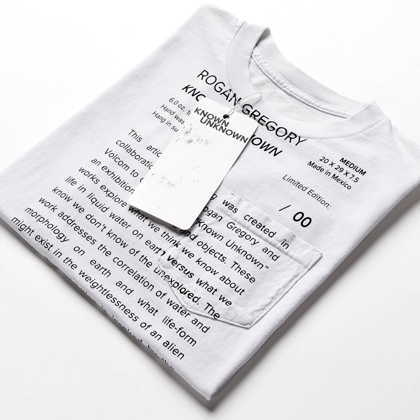 Rogan Gregory X Volcom Known Unknown Tee