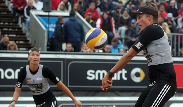 Beachvolleyball-Nationalteam Holtwick/Semmler startet bei den Xiamen Open der World Tour - Foto: HochZwei/Joern Pollex