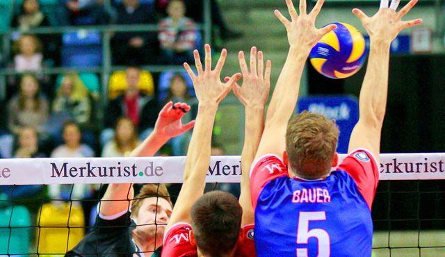 United Volleys legen mit 3:0 gegen Bühl vor - Foto: United Volleys/Gregor Biskup