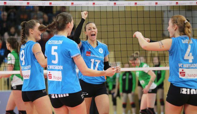 Überzeugende Leistung: VCW erobert gegen Münster Platz vier - Foto: Detlef Gottwald