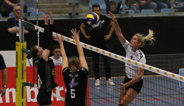 Volleyball-Team Hamburg mit erster Saisonniederlage gegen Bad Laer - Foto: VTH/Lehmann