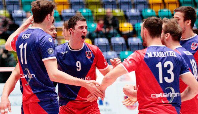 """Auswärtsfinale im """"Tollhaus"""" - Foto: United Volleys/Gregor Biskup"""