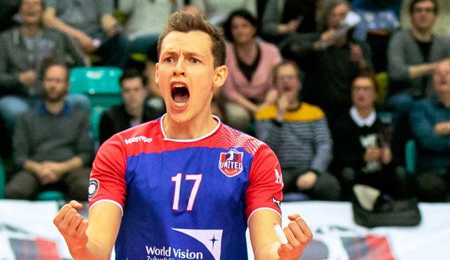 Zimmermann baut weiter mit am Team der Zukunft - Foto: United Volleys/Gregor Biskup