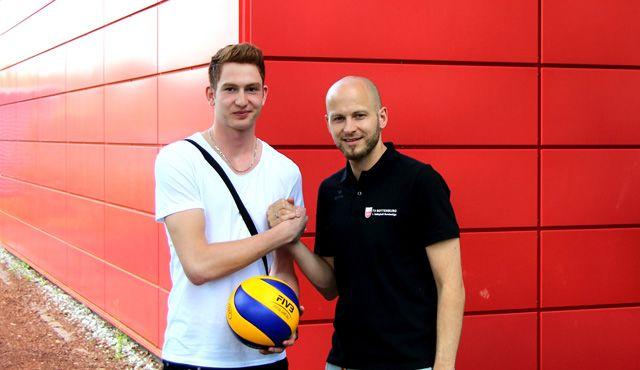 Bundesligadebüt für Tim Grozer beim TV Rottenburg - Foto: TV Rottenburg