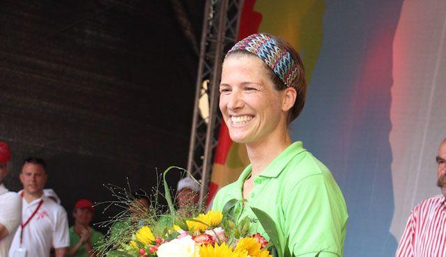 Okka Rau-Schmeckenbecher ist neue Volleyball-Abteilungsleiterin beim TVR - Foto: Philipp Vollmer