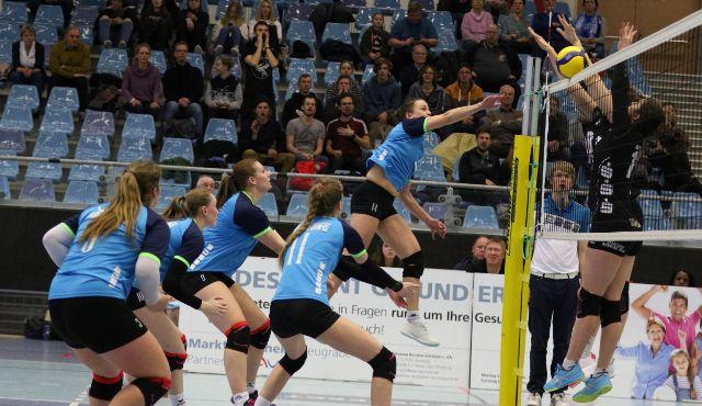 Volleyball-Team Hamburg empfängt den BBSC Berlin 2 in der CU Arena - Foto: VTH Lehmann
