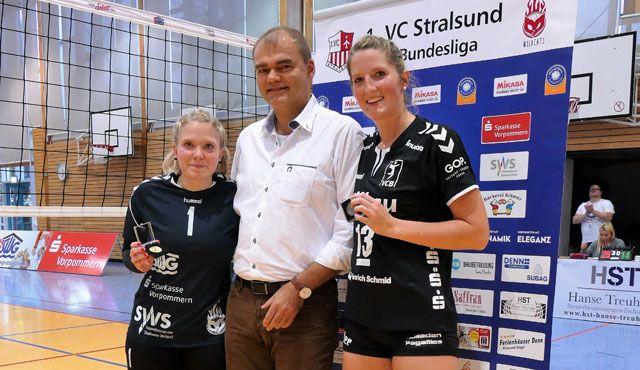 Stralsunder Wildcats – VC Allbau Essen 3:0  - Foto: Winfried Degner