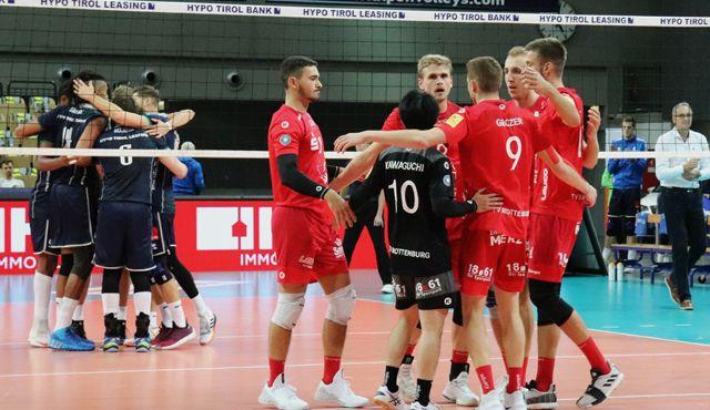 TVR gewinnt einen Satz in Innsbruck - Foto: Lajana Kampf