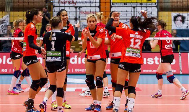 Team der Stunde der Volleyball Bundesliga kommt in die turmair Volleyballarena - Foto: Schindler