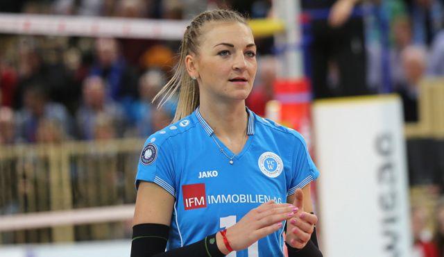 VCW holt Mittelblockerin für die Saisonvorbereitung: Valentina Zaloznik spielt für verletzte Simona Kóšová - Foto: Detlef Gottwald