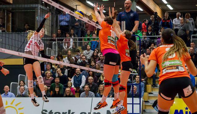 NawaRo gewinnt Derby in Lohhof erneut mit 3:0 - Foto: Schindler