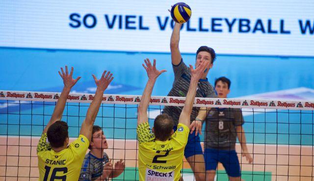 YoungStars empfangen AlpenVolleys Haching 2 zum Heimspiel - Foto: Günter Kram