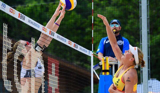 Ludwig/Walkenhorst wieder im Halbfinale - Foto: FiVB