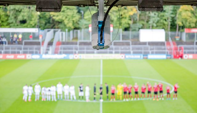 sporttotal.tv installiert das 400. Kamerasystem - Foto: sporttotal.tv