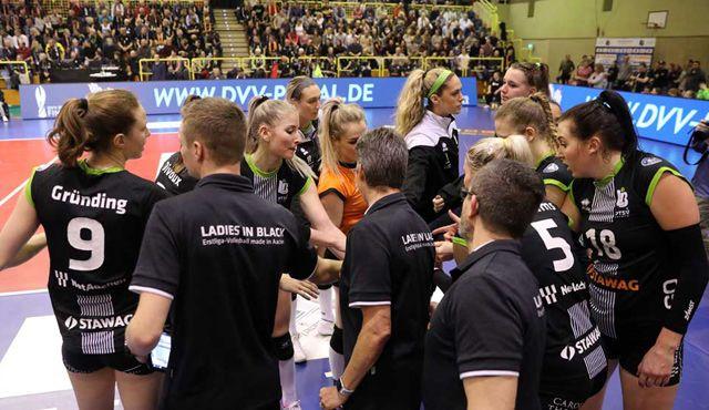 Am Samstag empfangen die Ladies in Black den SC Potsdam - Foto: Ladies in Black Aachen\\ Andreas Steindl