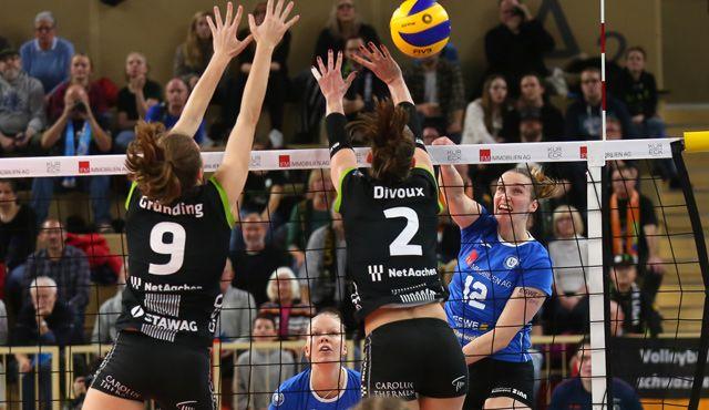 VCW verliert dramatische Partie gegen Aachen - Foto: Detlef Gottwald