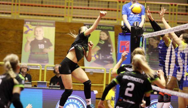Ladies in Black mit Rückenwind auf dem Weg zum DVV Pokal Viertelfinale - Foto: Ladies in Black Aachen Andreas Steindl