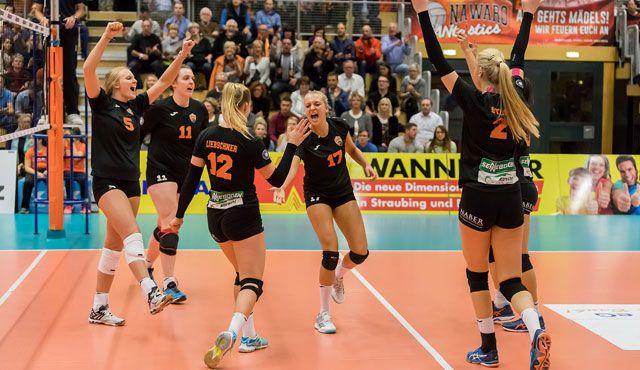 3:1 Erfolg gegen den VC Neuwied für Straubings Volleyball Bundesligist - Foto: Schindler