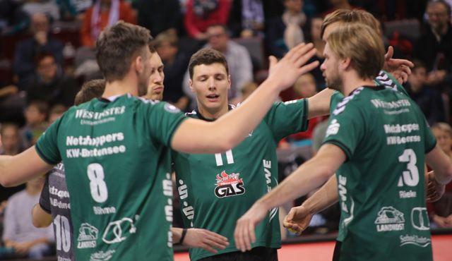 Netzhoppers müssen Niederlage beim Europapokal-Viertelfinalisten einstecken - Foto: SWD Powervolleys Düren