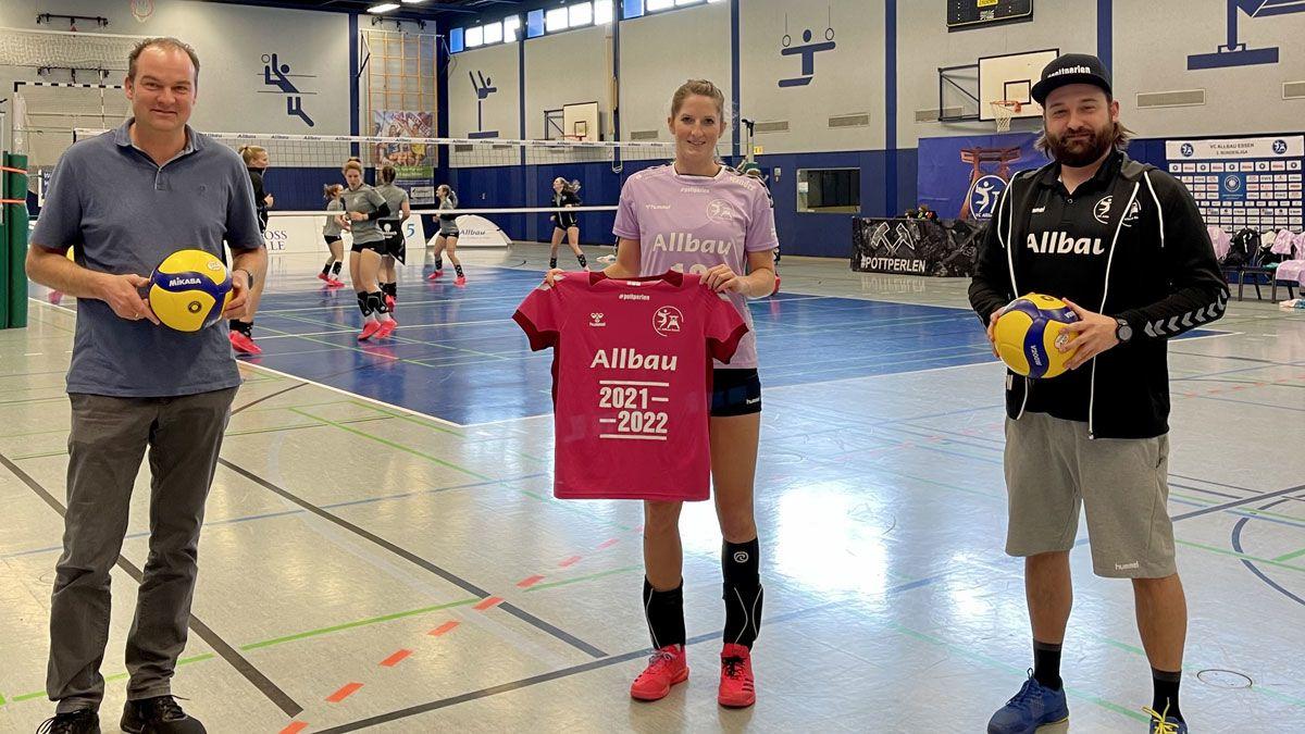 Allbau weiterhin Hauptsponsor bei den Essener Volleyballerinnen - Foto: VC Allbau Essen