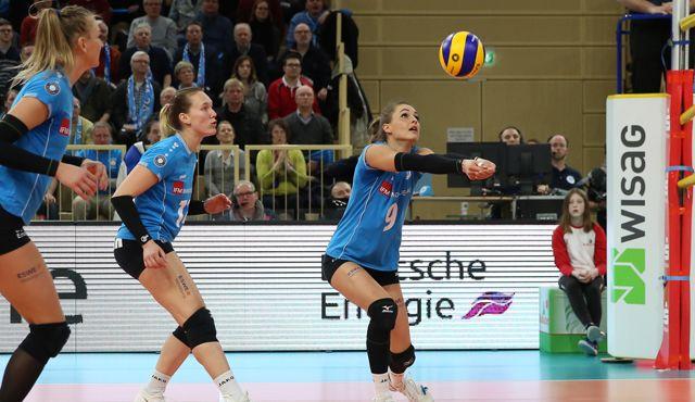 Nicht der Favorit, aber die Chance ist da: VCW macht vor dem Pokalfinale keinen Hokuspokus - Foto: Detlef Gottwald