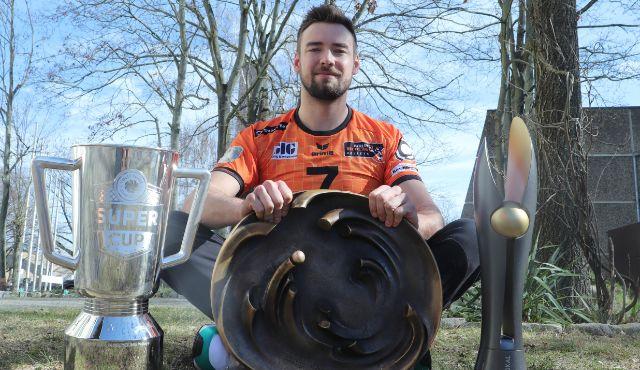 Karriereende auf der Couch: Georg Klein macht Schluss - Foto: BR Volleys