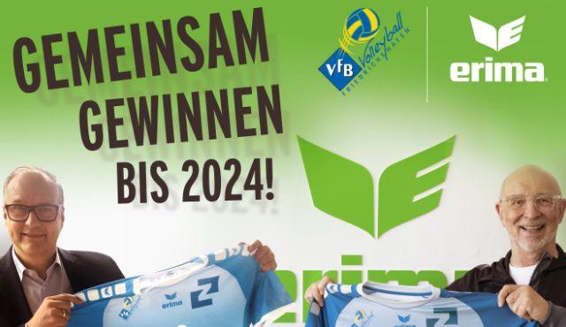 ERIMA und der VfB Friedrichshafen gehen auch in Zukunft gemeinsame Wege - Foto: ERIMA
